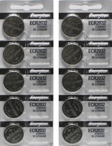 Купить Energizer - Lot of 10 PC ENERGIZER CR2032 WATCH BATTERIES 3V LITHIUM CR 2032 DL2032 BR2032