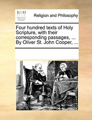 Four hundred texts of Holy Scripture, with thei, Contributors, Notes,, for sale  Shipping to India