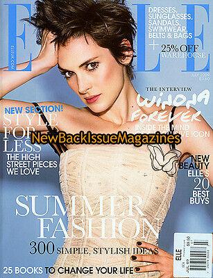 Uk Elle 7 09 Winona Ryder July 2009 New
