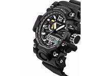 BRAN NEW Watch Men Waterproof Sports Military Watches Shock Men's Analog Quart.watch was £30