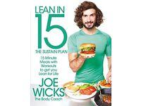 Lean In 15 The Sustain Plan - Joe Wicks Brand New Paperback