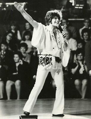 Ricky Shayne Musiker, DDR-Pressefoto 20x15,5, ADN, ohne Signatur, 1972