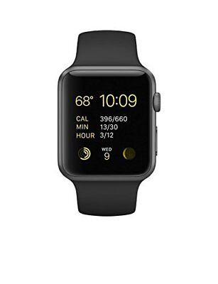 Apple Watch Series 1 42mm Smartwatch - Gray/Black (MJ3T2LL/A)