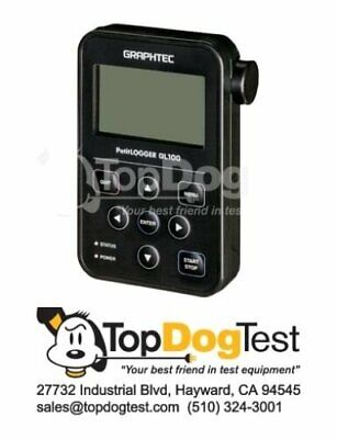 Graphtec Gl100-wl Compact Wireless Data Logger New