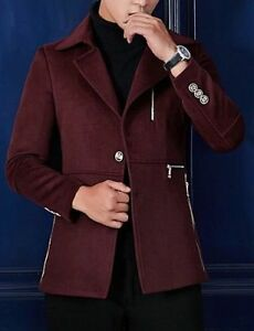 Beautiful funky wine colour unisex winter coat