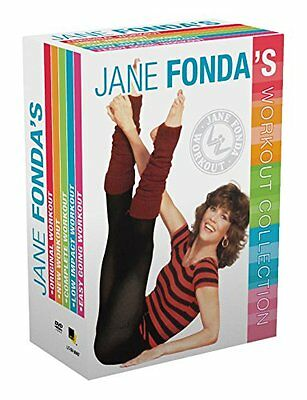Jane Fonda Workout Collection DVD Set Box Watch FitnessExercise Healthy Home Gym