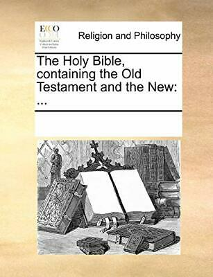 Used, The Holy Bible, containing the Old Testament an, Contributors, Notes,, for sale  Shipping to India