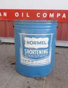 Shortening Can