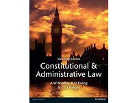 Constitutional and Administrative Law 16th Edition