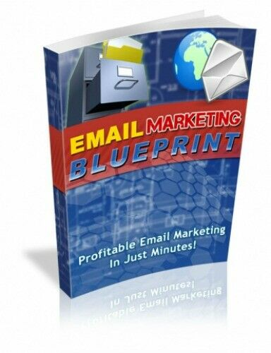 Email Marketing Blueprint PDF eBook with full resale rights!