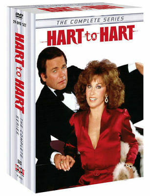 HART TO HART, THE COMPLETE SERIES:1-5,29 DISC SET,DVD,FREE SHIPPING,NEW.