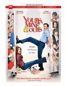 Yours,Mine and Ours-Widescreen dvd-Excellent condition + bonus