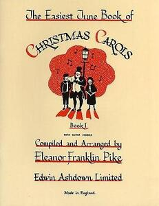 The Easiest Tune Book of Christmas Carols 1 (Easy Piano) Sheet Music NEW Carol