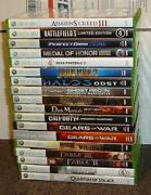 Xbox 360 Assassins Creed Lot