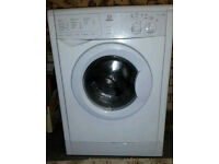White Indesit Washing Machine