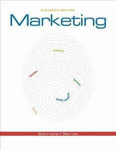 MARKETING by Montrose Sommers & James Barnes (11th Edition)