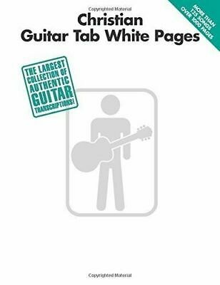 CHRISTIAN GUITAR TAB WHITE PAGES MUSIC BOOK-NEW ON SALE SONGBOOK-1000 PAGES!!
