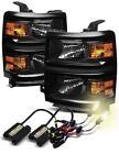 Black H11 Bulb Car & Truck Headlights HID