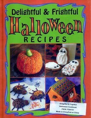Delightful & Frightful Halloween Recipes Cookbook