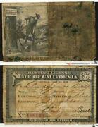Vintage California Hunting License