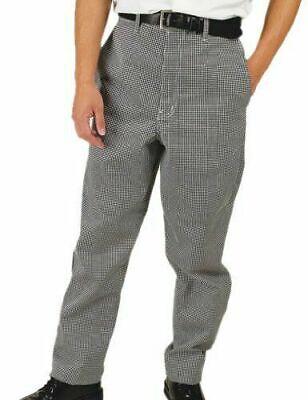 Nwt Phoenix Chefs Pants 32 X 34 Blackwhite Check Cp-3-m Medium Trousersjeans