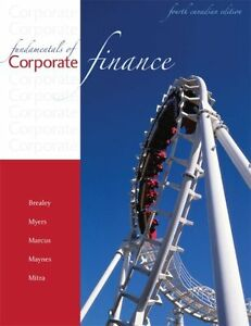 ADMS 3530 - Fundamentals of Corporate Finance, 4th ed.