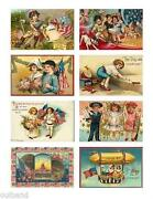 Vintage 4th of July Postcards