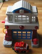 GeoTrax Fire Station