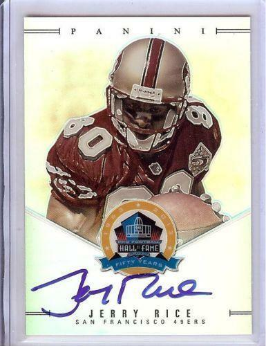 Jerry Rice Autograph  1c8595dee