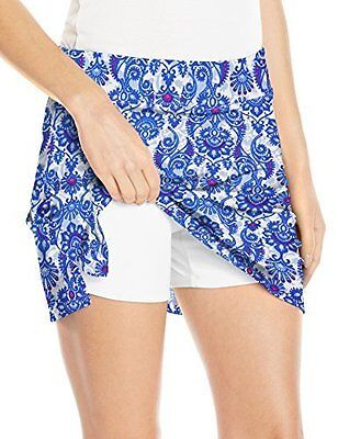 Tranquility by Colorado Clothing Woman's Skort-Blue Antiquity, miniskirts, Small