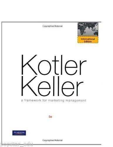 A framework for marketing management books ebay fandeluxe Images