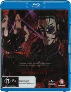 HELLSING :ULTIMATE COLLECTION 3 (Volume IX-X)   -  Blu Ray - Sealed Region B