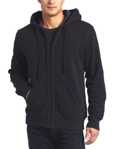 Mens Fleece Lined Hoodie | eBay