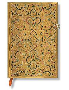 Paperblanks Mini Notebook Lined - Gold Inlay (PB2535-1),  -  - NEW