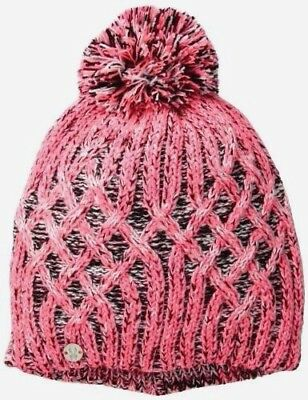 7e6de889935 Spyder Warm Women Girl Moritz Hat Ski Winter Multicolour Pink One Size A451