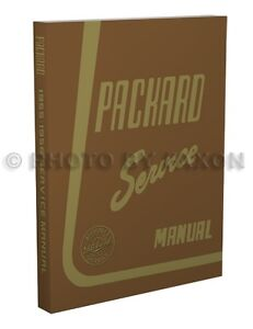 1955 1956 Packard Repair Shop Manual Clipper Panama 400 Carribean Patrician Exec