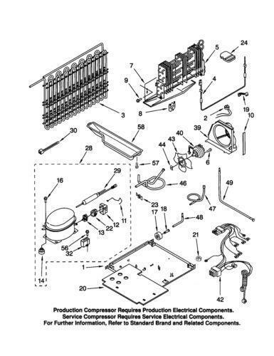 whirlpool condenser fan  parts  u0026 accessories