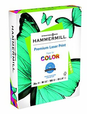 Hammermill Paper Premium Laser Print Paper 8.5 X 11 Paper Letter Size 28lb P