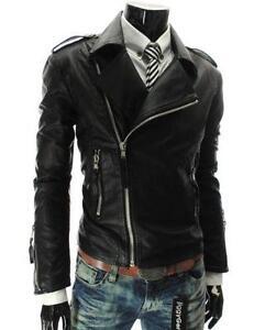 Punk Leather Jacket | eBay