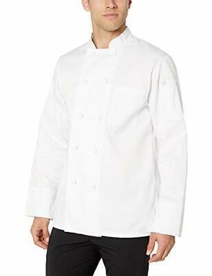 New Chef Works Mens Bordeaux Chef Coat White Small Free2dayship Taxfree