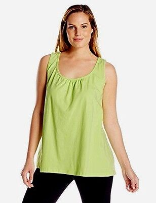 Workout Gym Top Activewear plus sz XS / 14 Marie Limelight Tank yoga sport NWT!