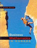 BUSINESS MATHEMATICS IN CANADA W/STUDENT CD-ROM (4th Edition)