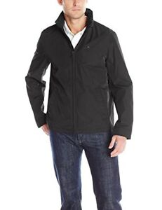 NEW Tommy Hilfiger Mens Stand Collar Zip Front Jacket M