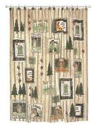 Outhouse Shower Curtain