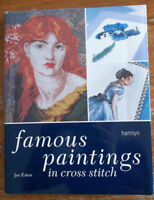 Famous Paintings in Cross Stitch Book