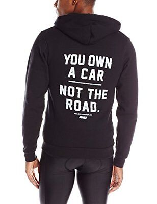 """The Awarewolfs """"You Own A Car Not The Road"""" Hoodie, X-Large, used for sale  Shipping to India"""