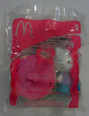 14f9d6a7c HELLO KITTY 30TH ANNIVERSARY MCDONALDS™ RING AROUND THE KITTY TOY 2004