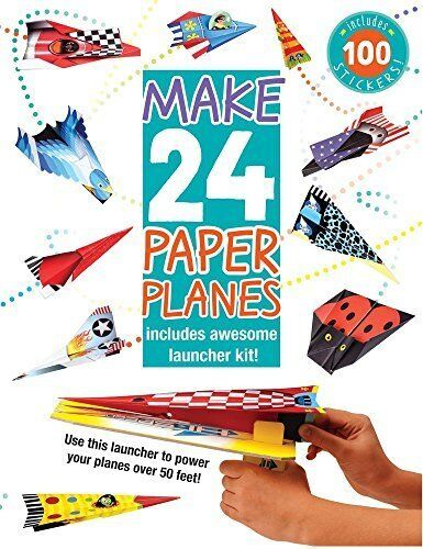 Make 24 Paper Planes: Includes Awesome Launcher Kit! Paperback