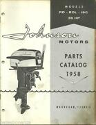 Johnson Outboard Motor 35