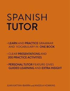 Spanish Tutor: Grammar and Vocabulary Workbook Learn Spanish ...